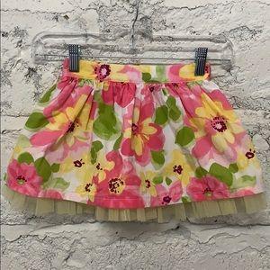 Gymboree Flower Skirt